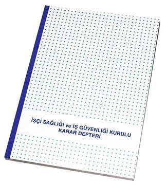 İŞ SAĞLIĞI VE İŞ GÜVENLİĞİ KURULU KARAR DEFTERİ OTOKOPİLİ 3 NÜSA KARTON KAPAK resmi