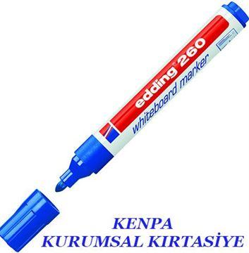Edding 260 tahta kalemi mavi resmi
