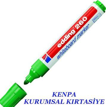 Edding 260 tahta kalemi yeşil resmi