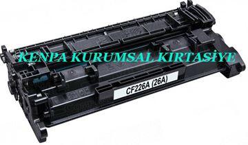 HP CF226A Muadil Toner Siyah Pro M402/M426 26A resmi