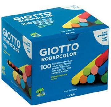 Robercolor tebeşir renkli 100 lü resmi