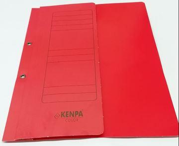 Lüks Yarım Kapak Dosya Kırmızı resmi