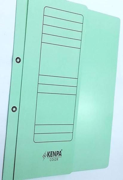 Lüks Yarım Kapak Dosya Yeşil resmi