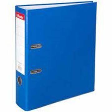 Esselte 9940 Plastik Klasör Geniş Mavi